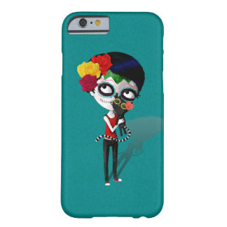 spooky Dia de Los Muertos Girl Barely There iPhone 6 ケース