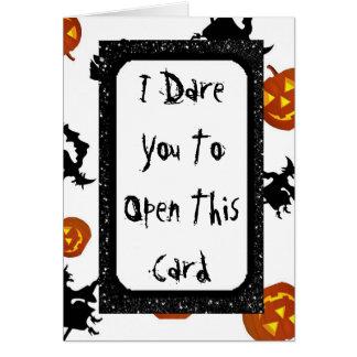 Spooky Halloween Card カード