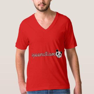 Spoonalismのパンダの石 Tシャツ