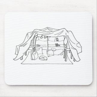 Spoonie枕または毛布の城砦慢性の病気 マウスパッド