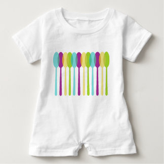 Spoons_Colorful_Mod_Baby-One-Piece_Romper_ ベビーロンパース