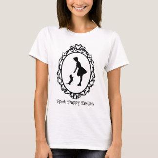 Sporkの子犬はロゴを設計します Tシャツ
