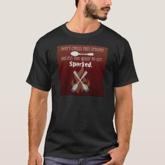 Sporkedを得て下さい! Tシャツ