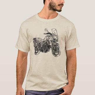 Sportbikeのスケッチ Tシャツ
