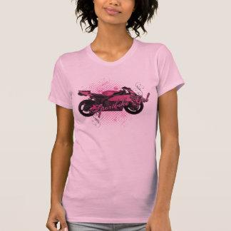 Sportbikeの女の子 Tシャツ