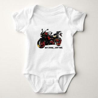 Sportbike 2 ベビーボディスーツ