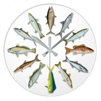 Sportfishの柱時計 ラージ壁時計