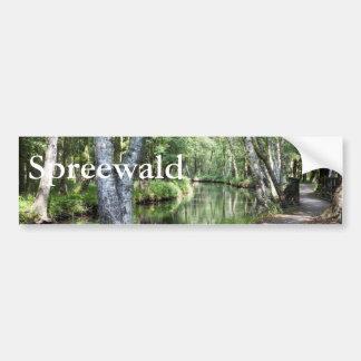 Spreewald運河 バンパーステッカー