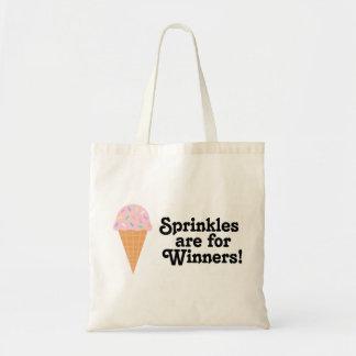 sprinkles勝者、チャンピオンのためです! トートバッグ