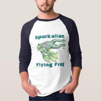 Spurkalianの飛んでいるなカエル Tシャツ