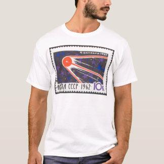 Sputnik 1の第5記念日1962年 tシャツ