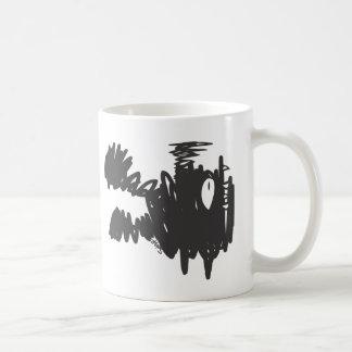 Sqiggz -未知のモンスター コーヒーマグカップ