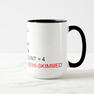 SQLのプログラミングの茶マグ マグカップ