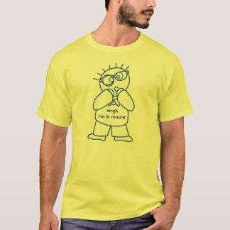 SQLのマスタデータベースのおもしろTシャツ Tシャツ