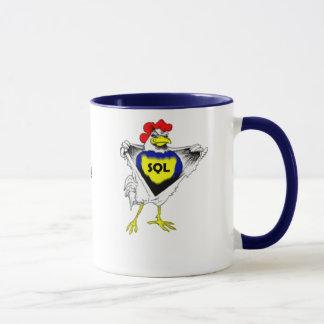 SQLChickenのマグ マグカップ