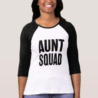 Squad叔母さんのおもしろいな女性の伯母さんのワイシャツ Tシャツ