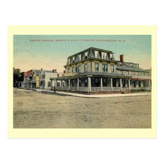 Squanの家、Manasquanのニュージャージーの1912年のヴィンテージ ポストカード