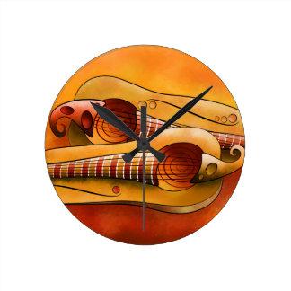 squashguitar Efheros V1 - ラウンド壁時計