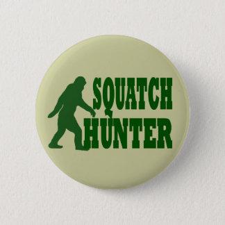 Squatchのハンター 5.7cm 丸型バッジ