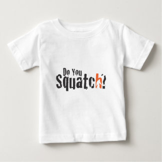 Squatchの衣服および多く ベビーTシャツ