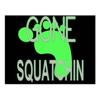 Squatchinの行ったギフト ポストカード
