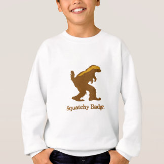 Squatchyのアナグマ スウェットシャツ