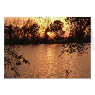 Squawの入り江の秋 カード