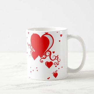 squiggleのハート コーヒーマグカップ