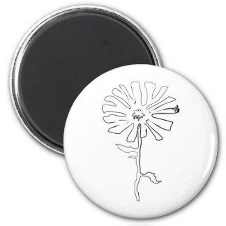 squiggleの花 マグネット