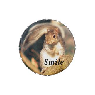 Squirrelスマイルの氏 アメ缶