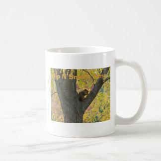 Squirrel&Autumn色、一口Nの軽食の時間 コーヒーマグカップ