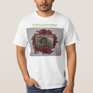 Squirrel&Berryのリース、私はGETTING…ではないです Tシャツ