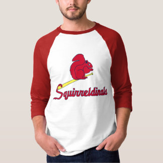 Squirreldinalsセントルイスの再結集のリスのTシャツ Tシャツ