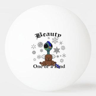 Squiteの美しいは雪片との種類の1つです 卓球ボール