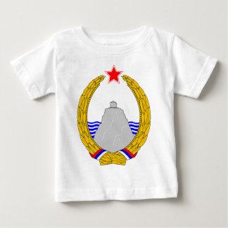 SRのモンテネグロの紋章付き外衣 ベビーTシャツ