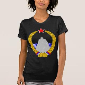 SRのモンテネグロの紋章付き外衣 Tシャツ