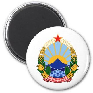 SRマケドニアの紋章付き外衣 マグネット