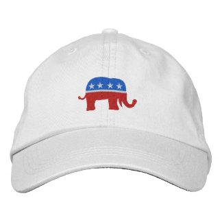 SRFによる共和党の愛国心が強い/選挙の帽子 刺繍入りキャップ