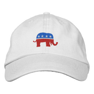 SRFによる共和党の愛国心が強い/選挙の帽子 刺繍入り野球キャップ