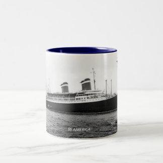 SSアメリカ ツートーンマグカップ