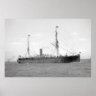 SS Suevia ポスター