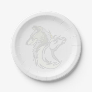 SSUのロゴの紙皿 ペーパープレート