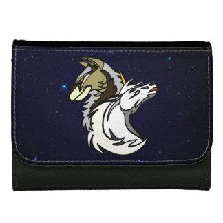 SSUのロゴのSpacescapeの三つ折り財布 ウォレット