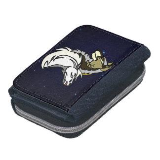 SSUのロゴのSpacescapeの硬貨フレンドリーなデニムの財布 ウォレット