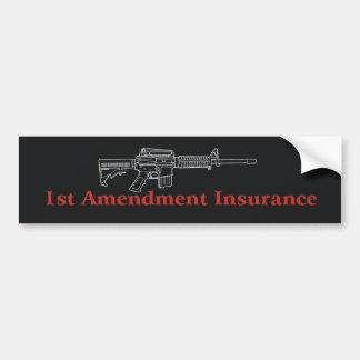 ! stの修正の保険 バンパーステッカー