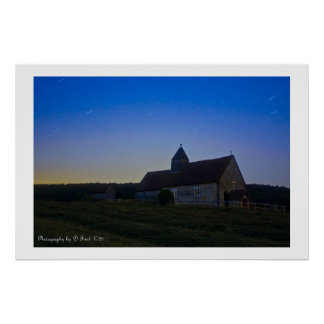 Stのhuberts教会 ポスター