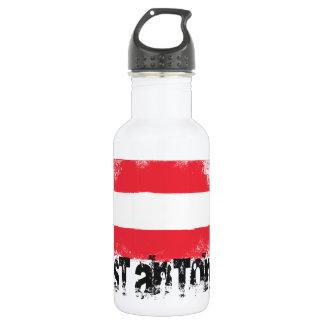 Stアントンのグランジな旗 ウォーターボトル