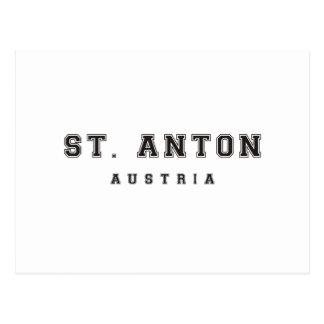 Stアントンオーストリア ポストカード