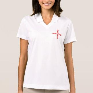 Stゲオルゲスイギリスの女性ポロ ポロシャツ