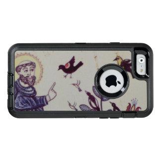 Stフランシスおよび鳥 オッターボックスディフェンダーiPhoneケース